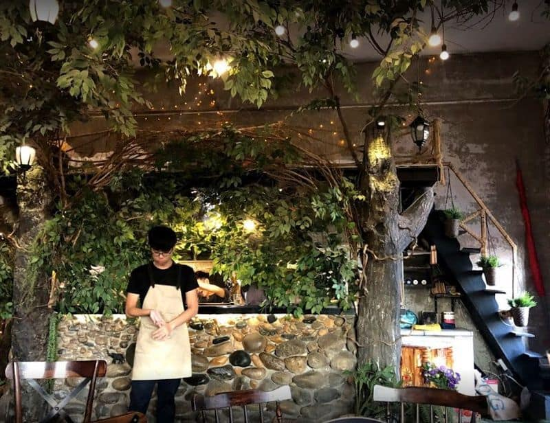 1st garden cafe san vuon quan 1