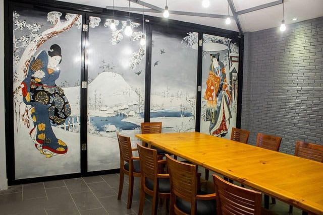 nhà hàng Genji 8