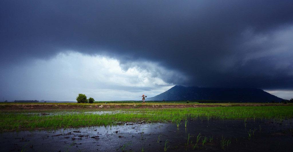Tay Ninh Nui ba Den ngay mua 1