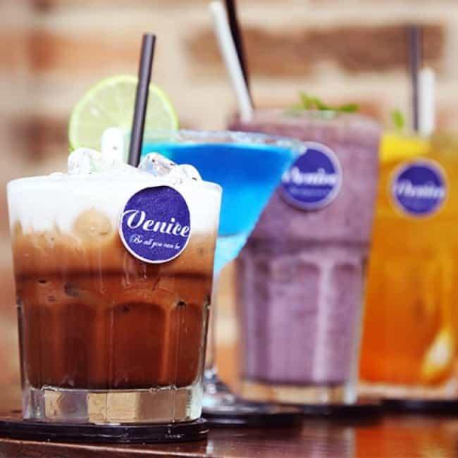 venice coffee khong gian ca phe cocktail tre trung sang trong 6
