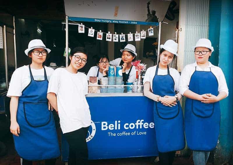 Beli Coffee pho quang