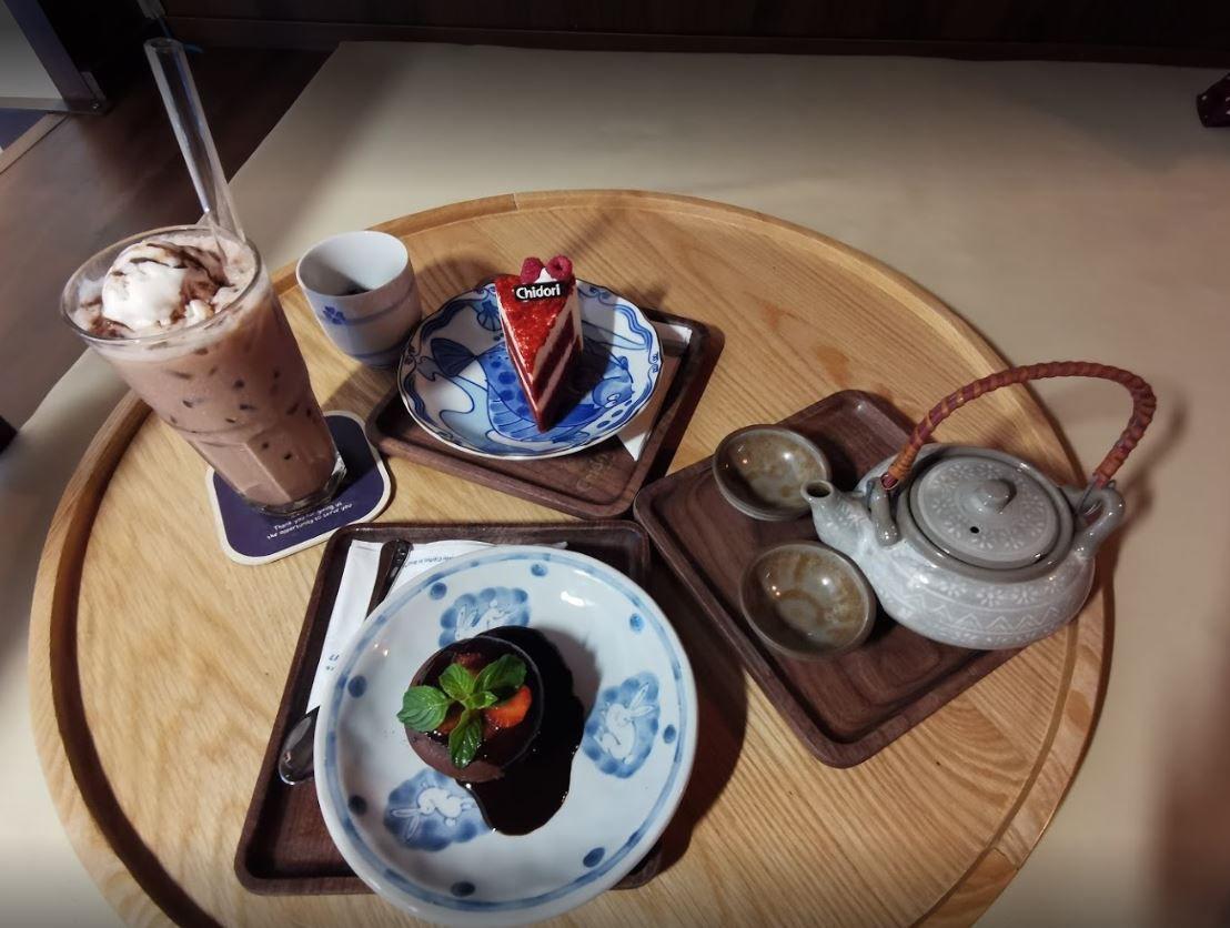 Chidori - Coffee in Bed - cafe Đinh Tiên Hoàng
