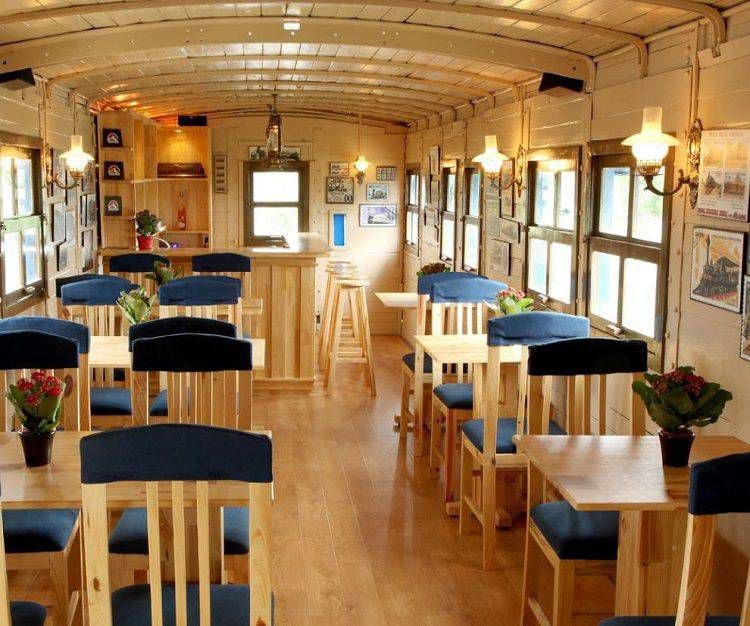 Dalat Train Villa Cafe 1