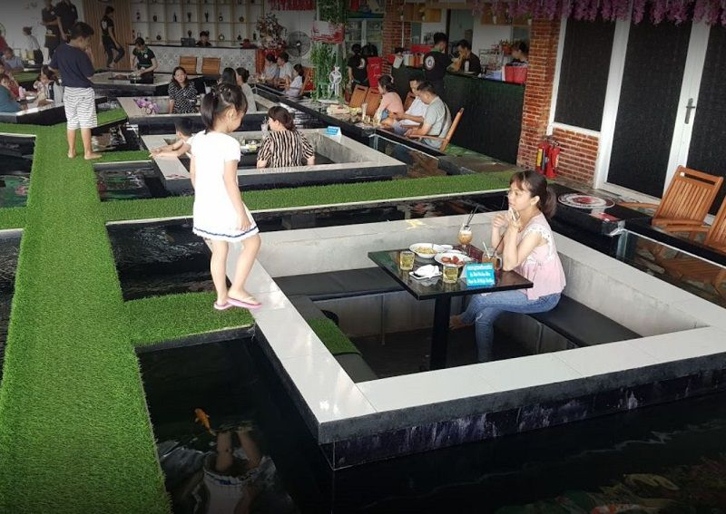 Friend's Koi Coffee - cafe cá koi tây ninh