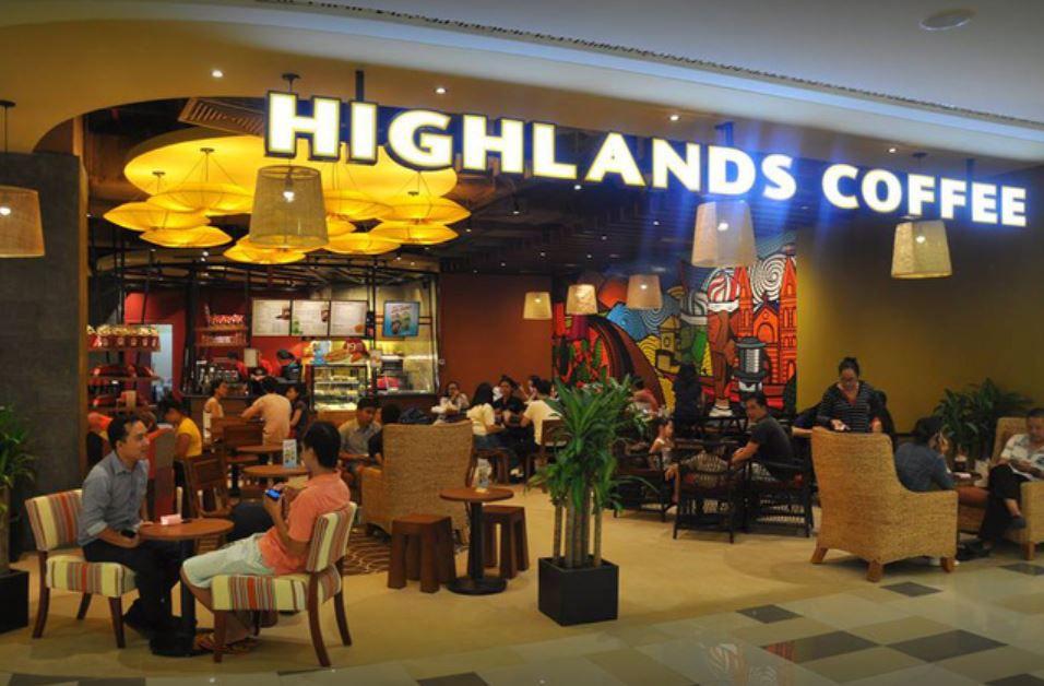 Highlands Coffee kim ma 2