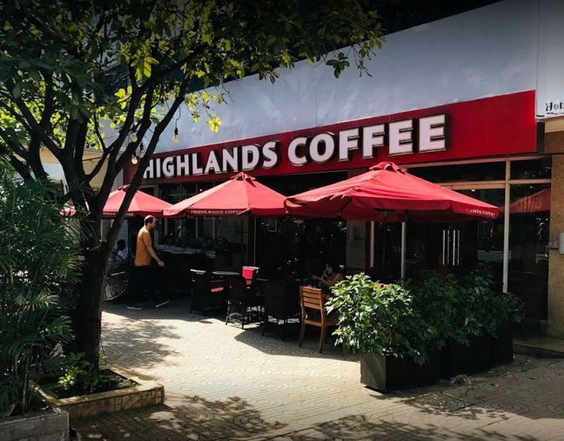 Highlands Coffee kim ma