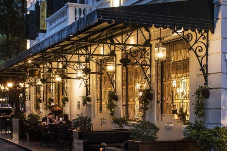 La Terrasse du Metropole cafe tinh nhan ha noi