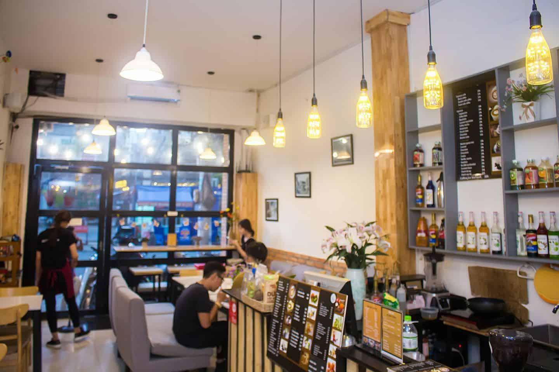 Mr. OBA Coffee cafe quan 1
