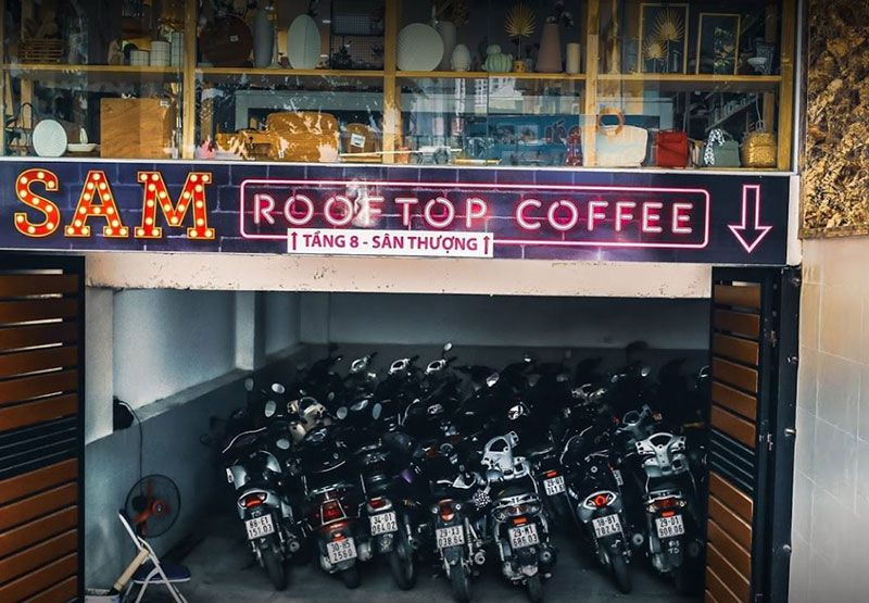 Sam Rooftop Coffee 1