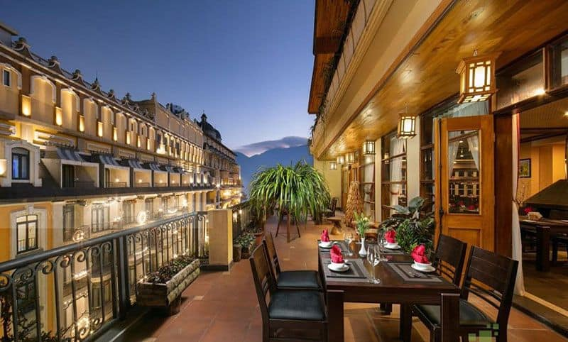 Sapa Green Hotel Spa 1