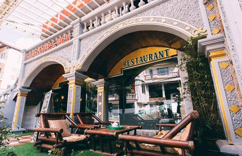 Sapa Natureview Hotel Restaurant 1