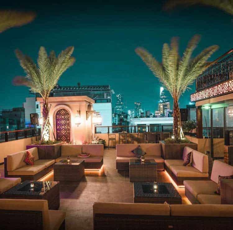 Zahrah Coffee Lounge Rooftop 1