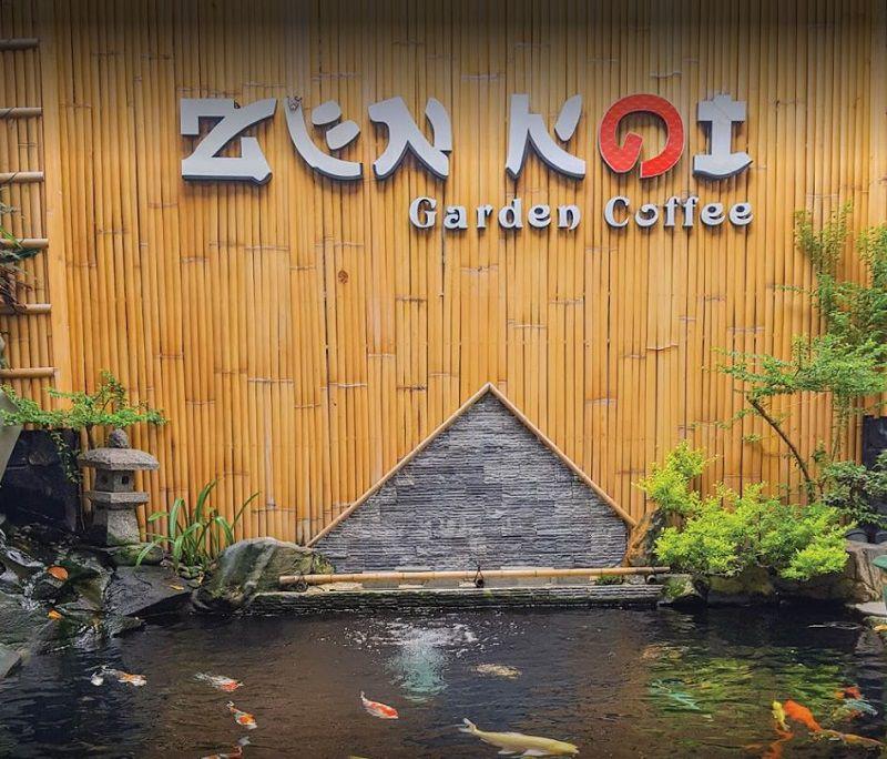 Zen Koi Garden Coffee 1