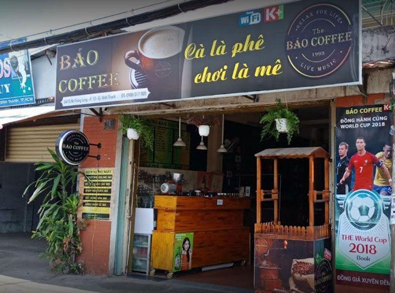 Báo Coffee - cafe acoustic bình thạnh