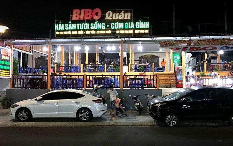 Bibo Quán - Quán hải sản Phan Thiết không thể bỏ qua