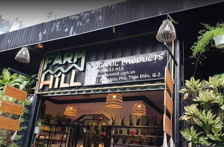 cafe farm hill quan 2