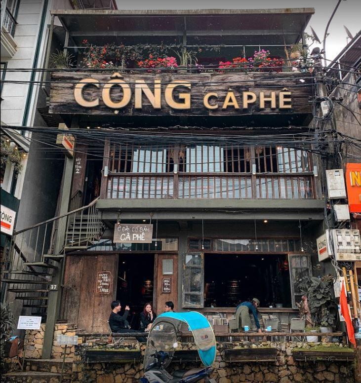 cong cafe sapa 1