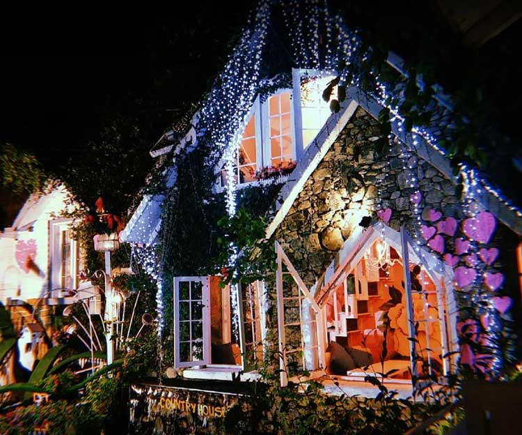 country houses coffee cafe tinh nhan