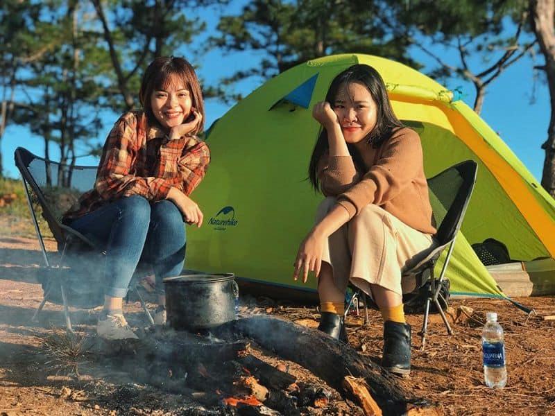 Kinh nghiệm cắm trại hữu ích