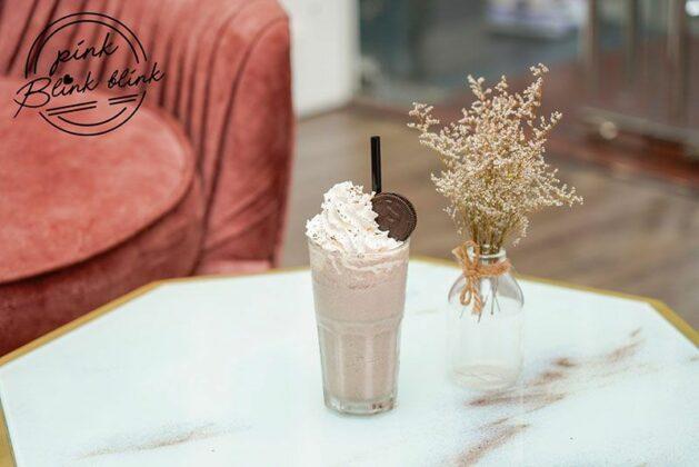 pink blink blink coffee tea house