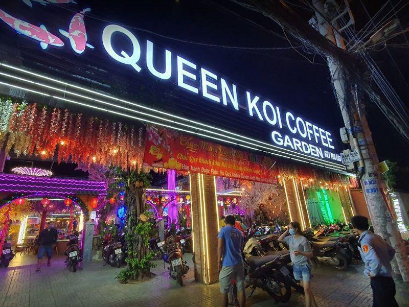 queen koi coffee garden 2