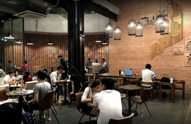 the coffee house pham ngu lao 3