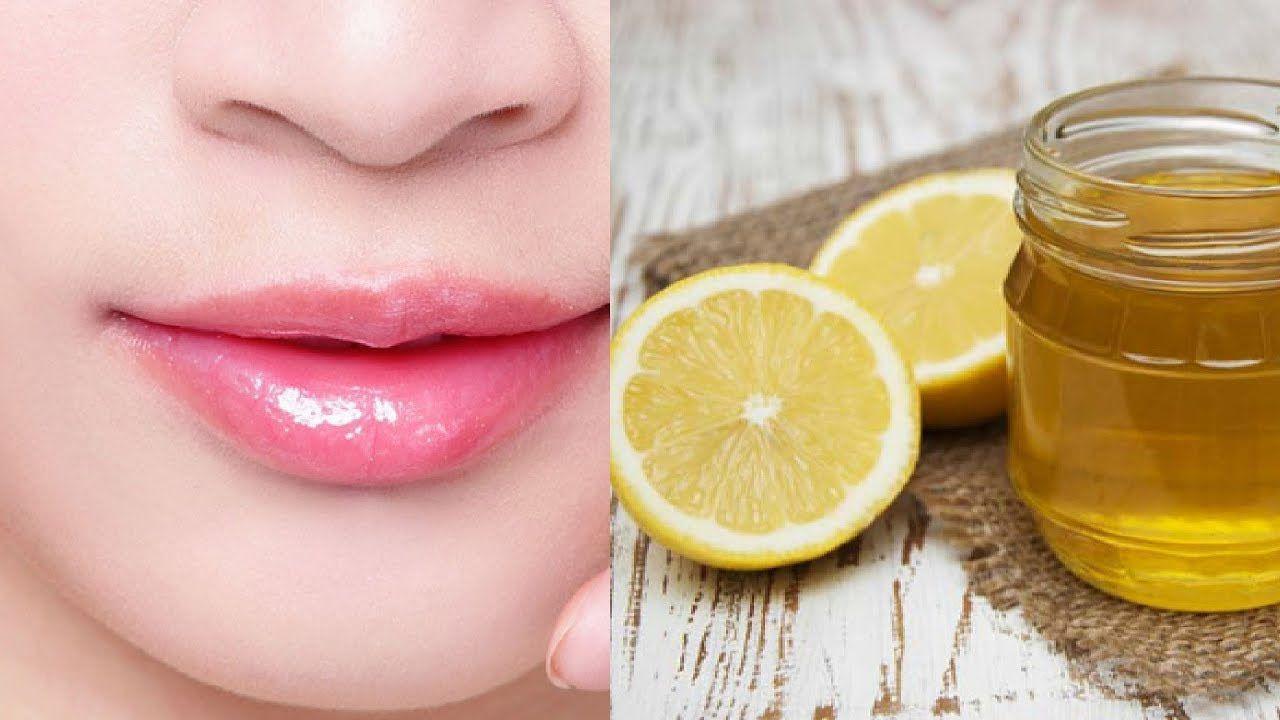 cách trị thâm môi bằng chanh